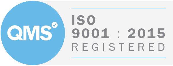 QMS ISO 9001:2015 Registered